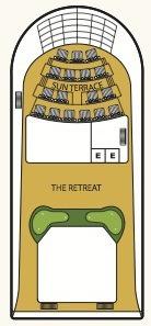 Seabourn Odyssey, Sojourn & Quest deck plans - Deck 11