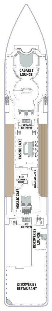 Azamara Club Cruises Journey & Quest deck plans - Deck 5