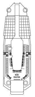 Celebrity Cruises Solstice Class deck plans - Deck 16