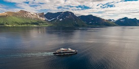 Ponant Cruises - Le Lapérouse in Alesund, Norway 2018