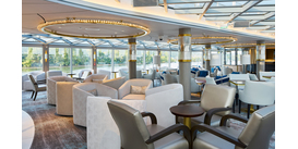 Crystal River Cruise Palm Court Seating