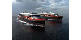 Hurtigruten's hybrid cruise ships, designed to be kinder to the environment