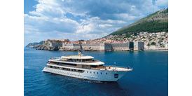 New boutique cruise ship MS Swallow in Croatia
