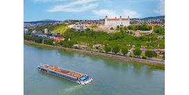 AmaMagna on the Danube in Bratislava - read our review to find out more