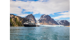 An expedition cruise on Silver Cloud