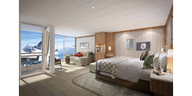 Seabourn Venture preview - Panorama Suite artist's impression