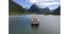 SeaDream Yacht Club in Norway