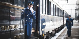 Combine your cruise with a luxury rail journey on the Venice Simplon-Orient-Express