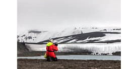 Smartphone photography on a Hurtigruten expedition cruise in Antarctica