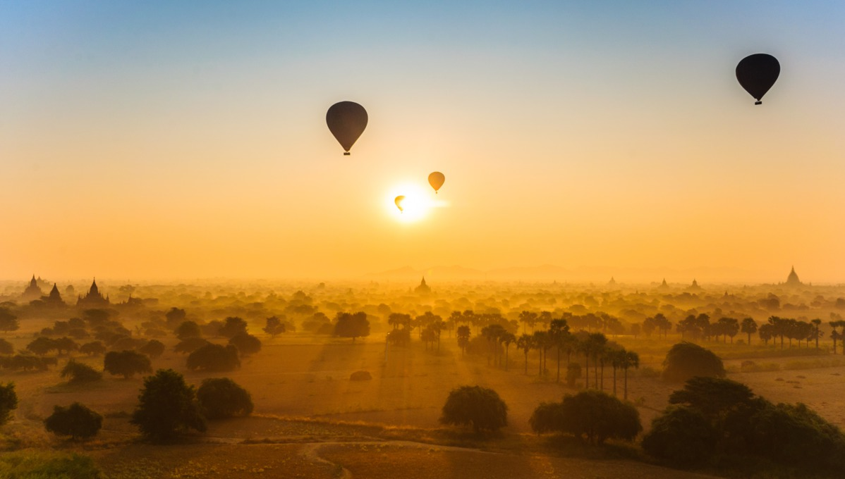 Baloons over Bagan