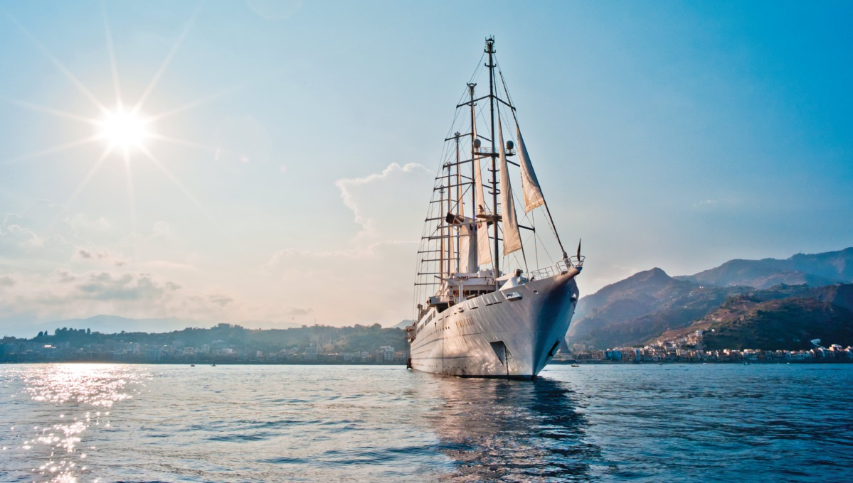 Windstar Cruises - Wind Surf at sea