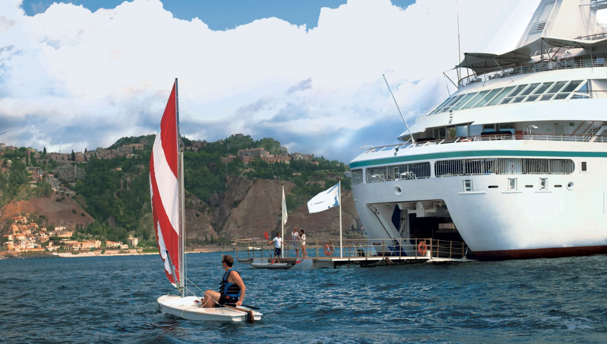 Windstar Cruises - Star Pride marina