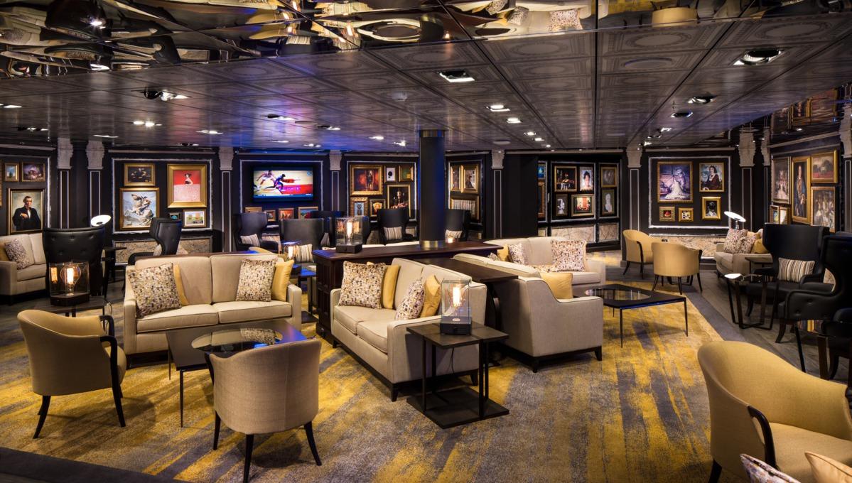 Holland America Line cruises - MS Eurodam Gallery Bar