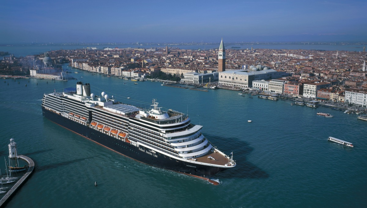 Holland America Line cruises - MS Noordam in Venice