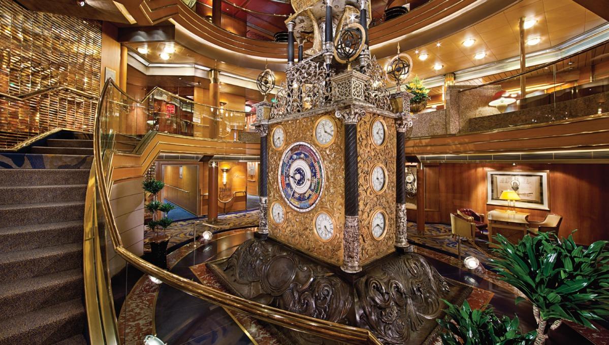 Holland America Line cruises - MS Rotterdam atrium