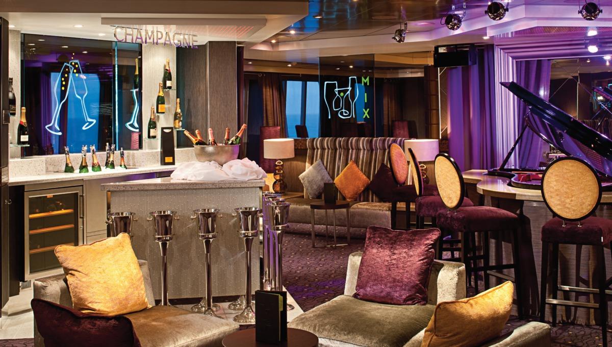 Holland America Line cruises - MS Rotterdam Champagne Bar