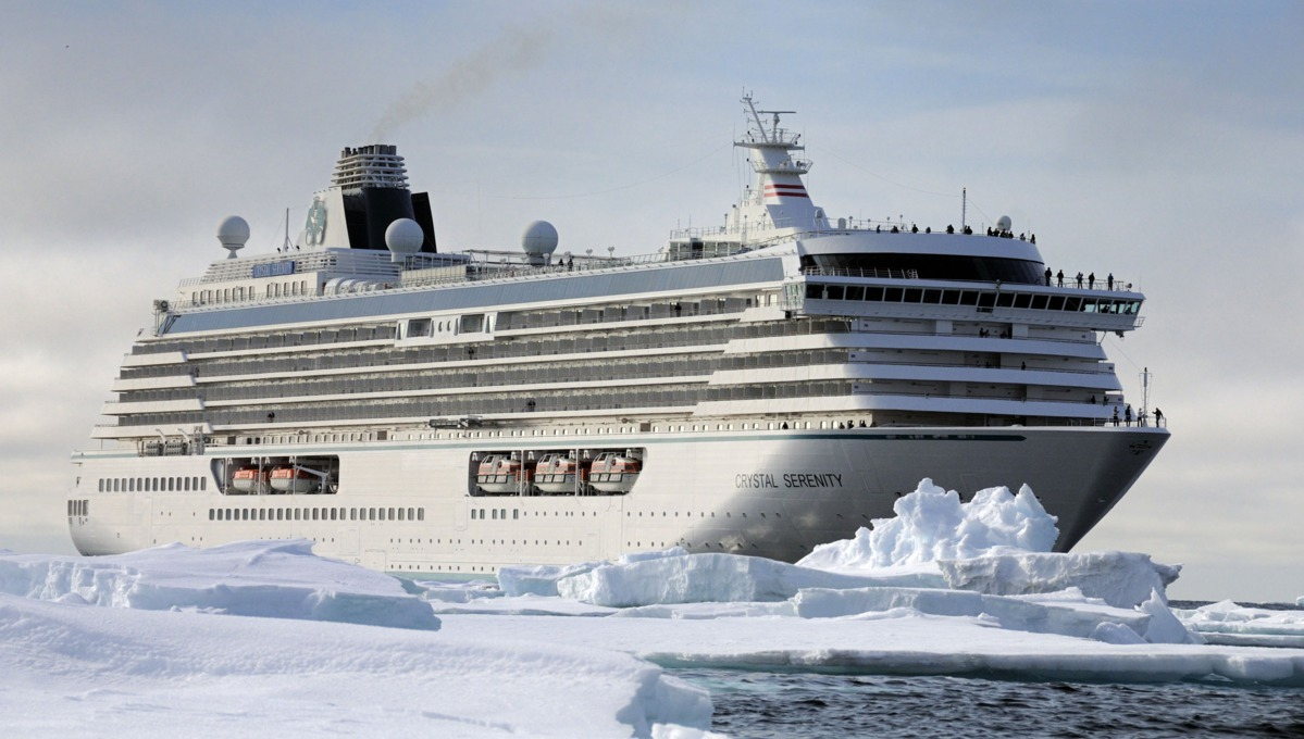 Crystal Cruises - Crystal Serenity sails the Northwest Passage again in 2017