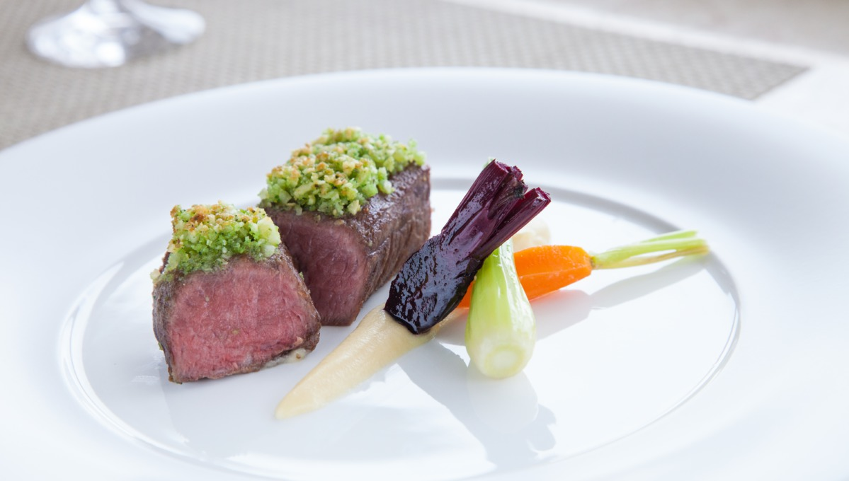 Cuisine on Crystal Cruises - Lamb at Prego