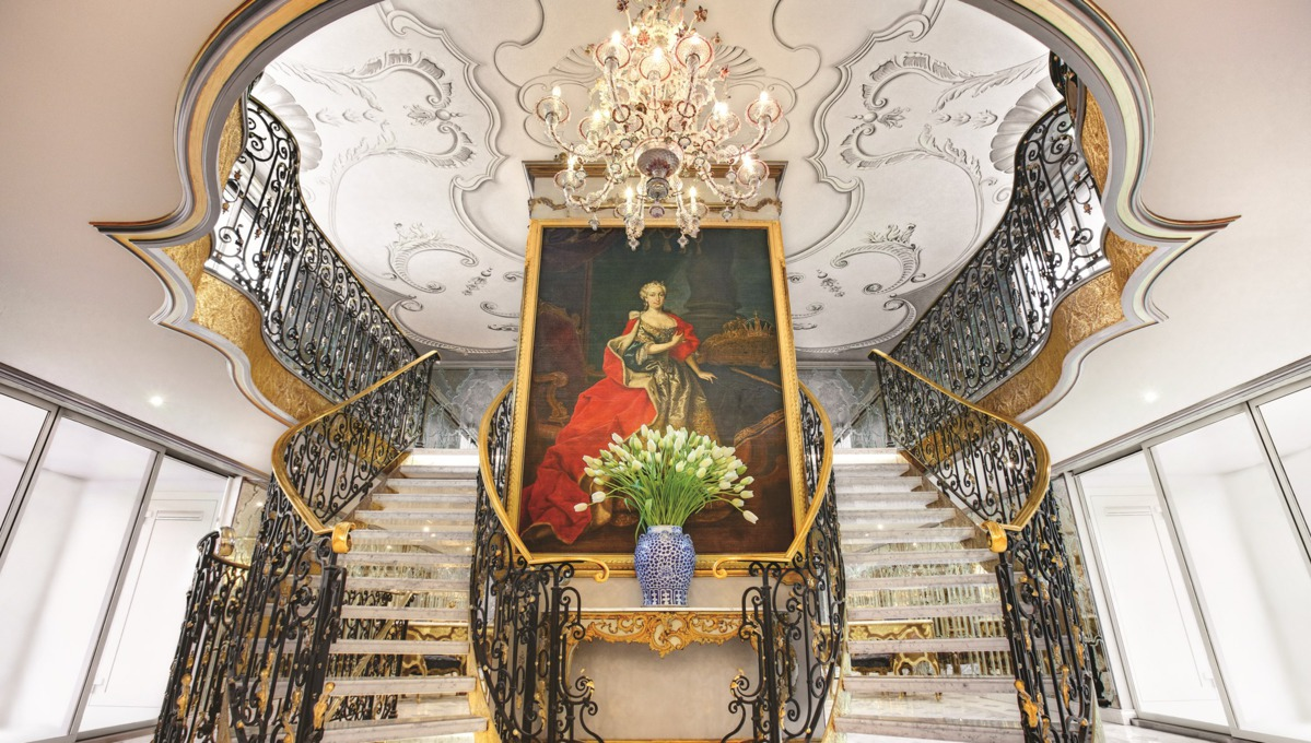 Uniworld River Cruises - SS Maria Theresa lobby