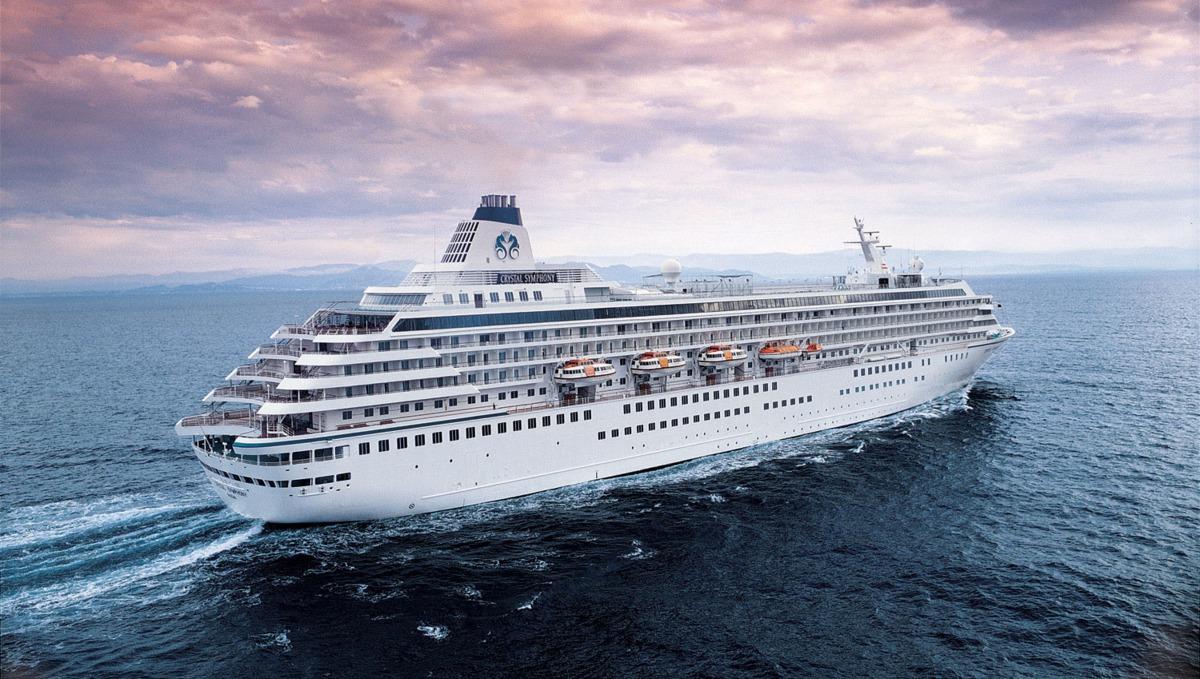 Crystal Cruises - Crystal Symphony at sea