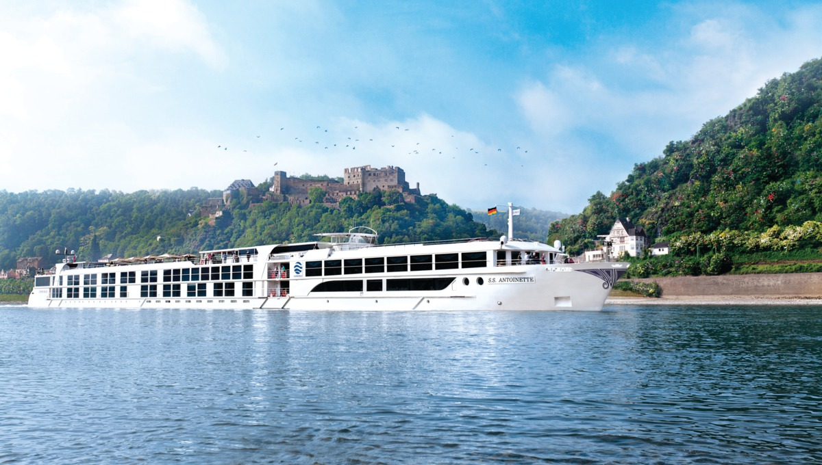 Uniworld River Cruises - SS Antoinette on the Rhine