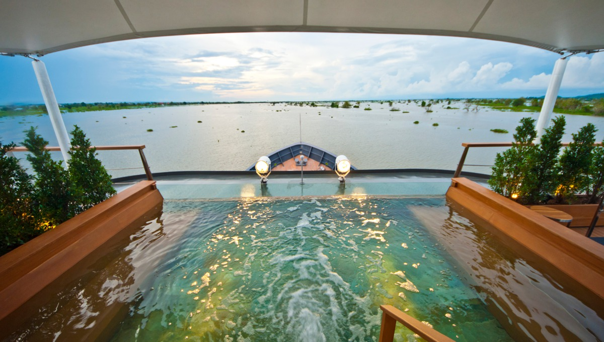 Aqua Expeditions - Aqua Mekong plunge pool