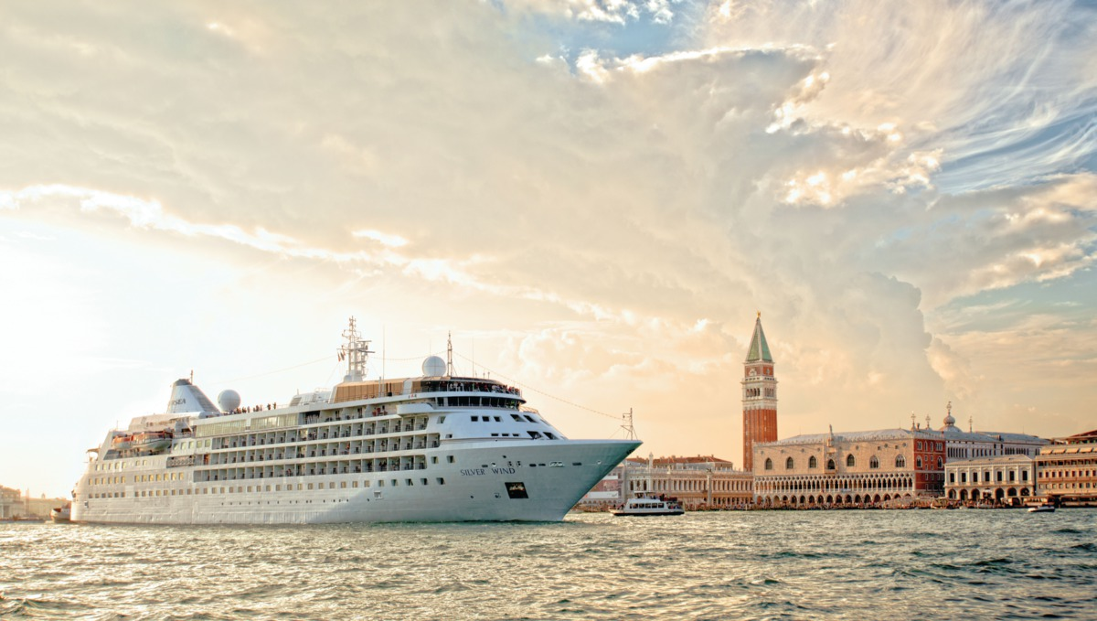 Silversea - Silver Wind in Venice
