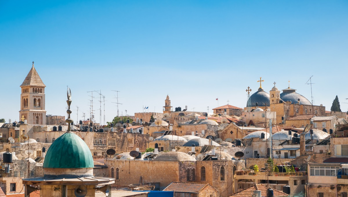 Holy Land cruises - Jerusalem old city