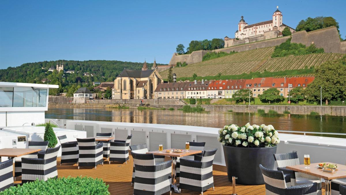 Scenic river cruises - Sun deck