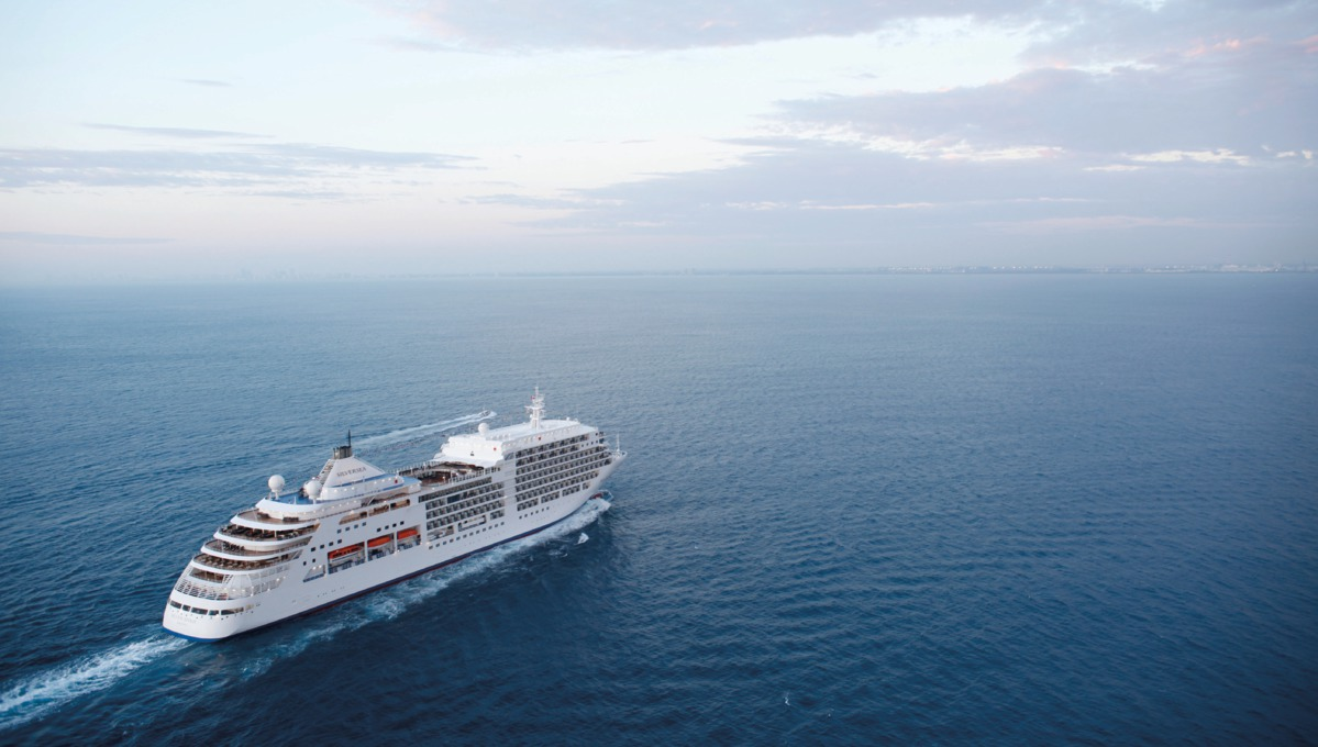 Silver Spirit at sea