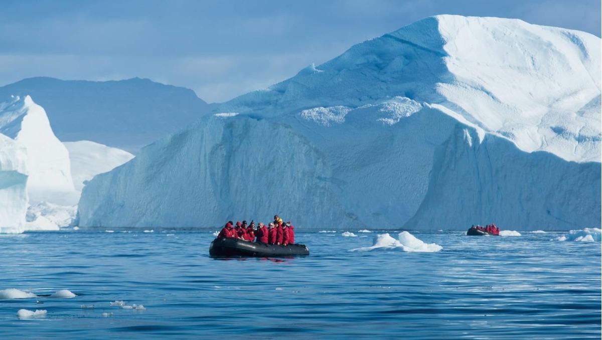 Polar expedition cruises - Disko Bay, Greenland