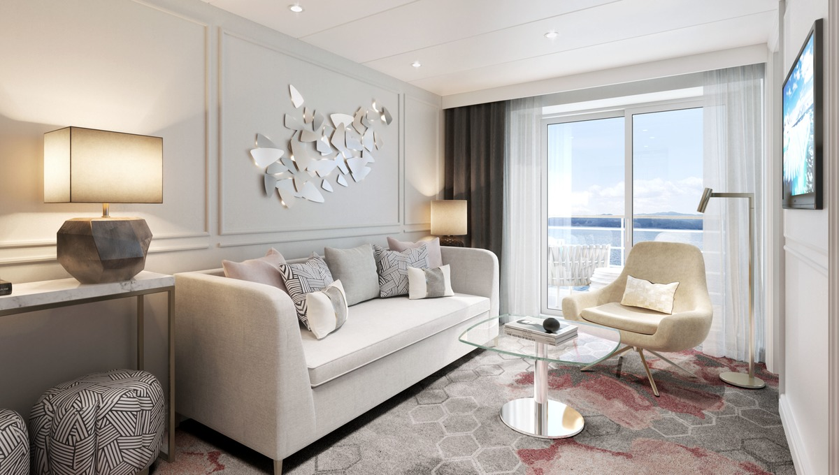 Crystal Serenity & Symphony refurbishment - Seabreeze Penthouse Suite