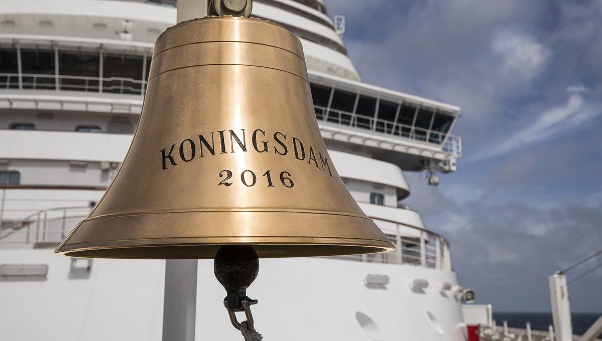 Holland America Line - MS Koningsdam bell