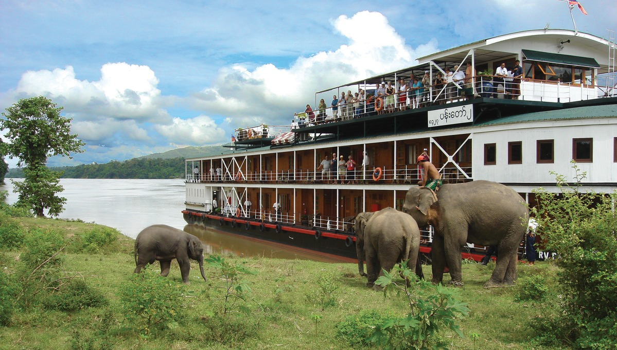 Asia river cruise guide - Pandaw 2
