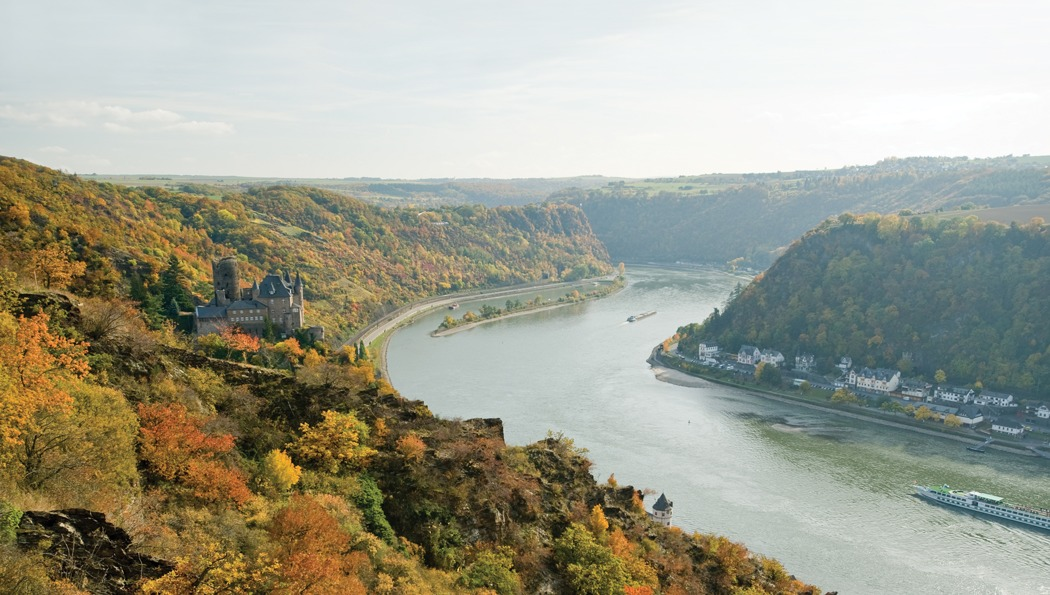 Tauck river cruise review - MS Grace on the Rhine