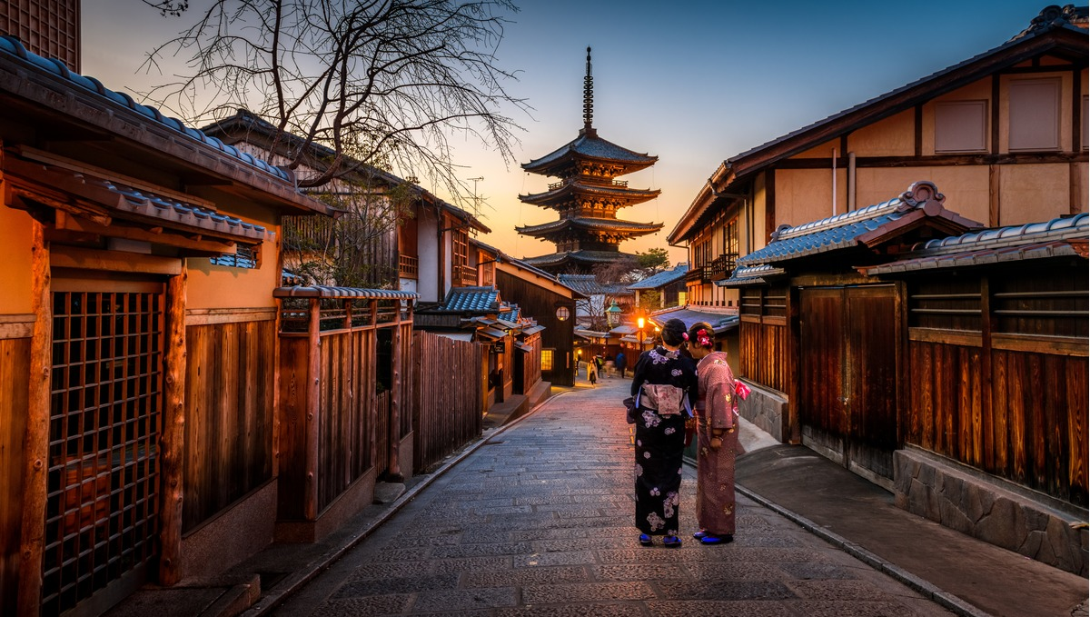 Kyoto, one of the best places to visit on a Japan cruise