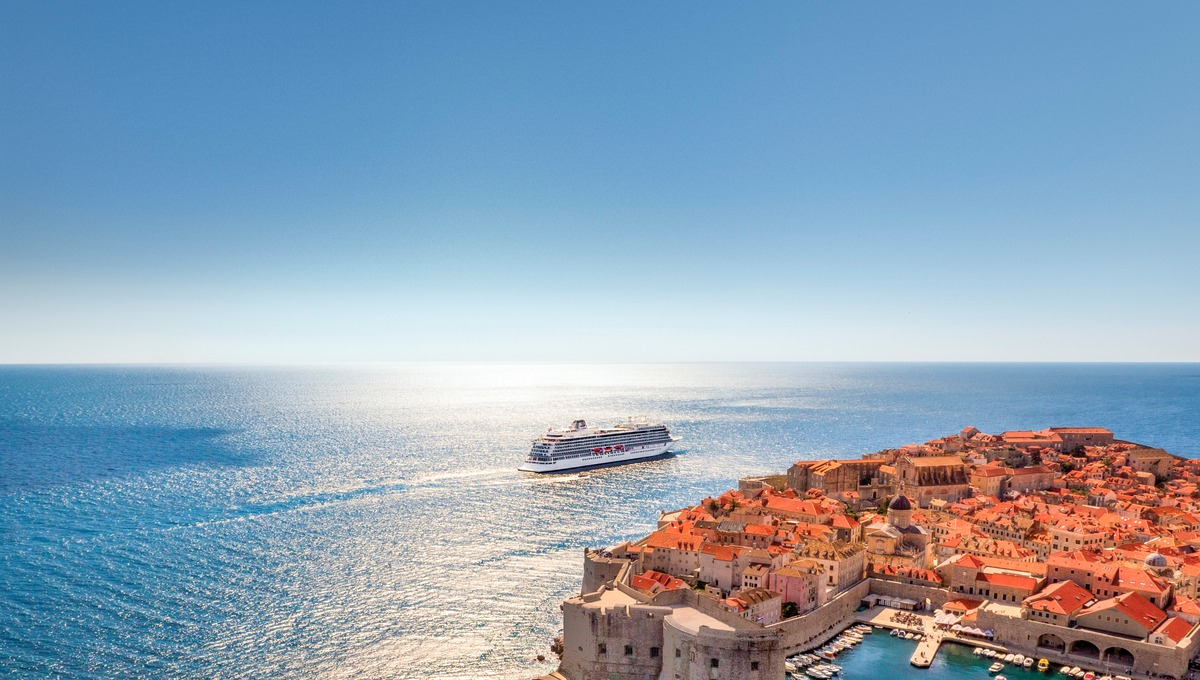 Viking Ocean Cruises - Viking Sea in Dubrovnik