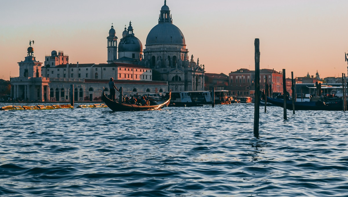 Venice, highlight of a Po river cruise through northern Italy
