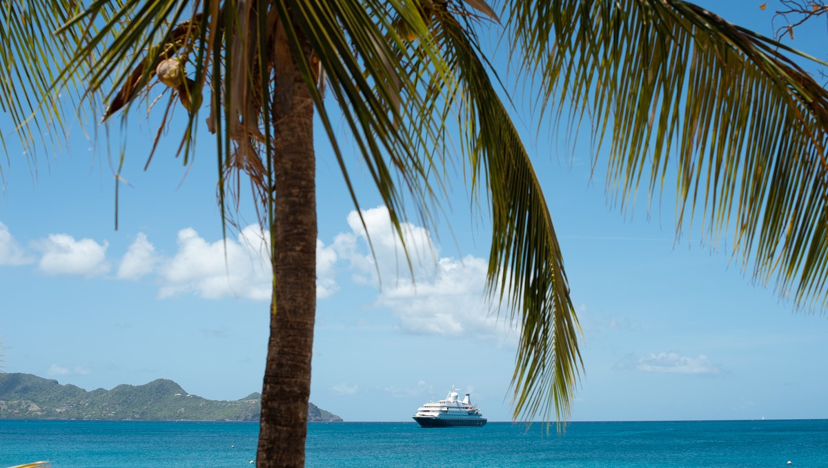 SeaDream Yacht Club, one of the best small ship cruise lines in the Caribbean