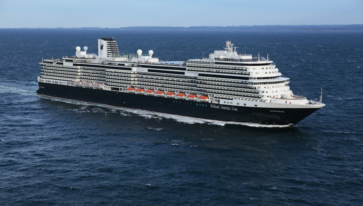 Going Dutch HAL - MS Koningsdam,
