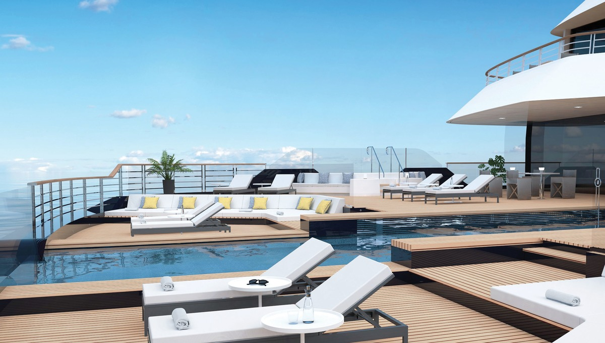 The Ritz Carlton Yacht Club - Pool Deck