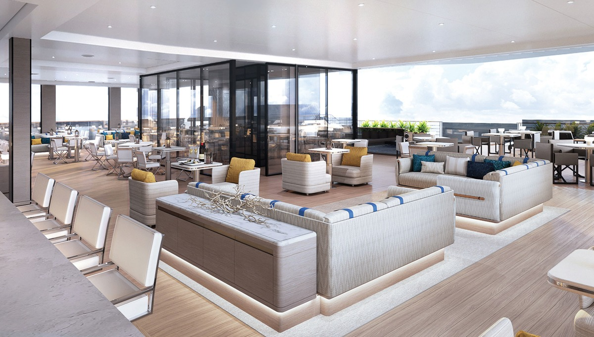 The Ritz Carlton Yacht Club - Marina Lounge