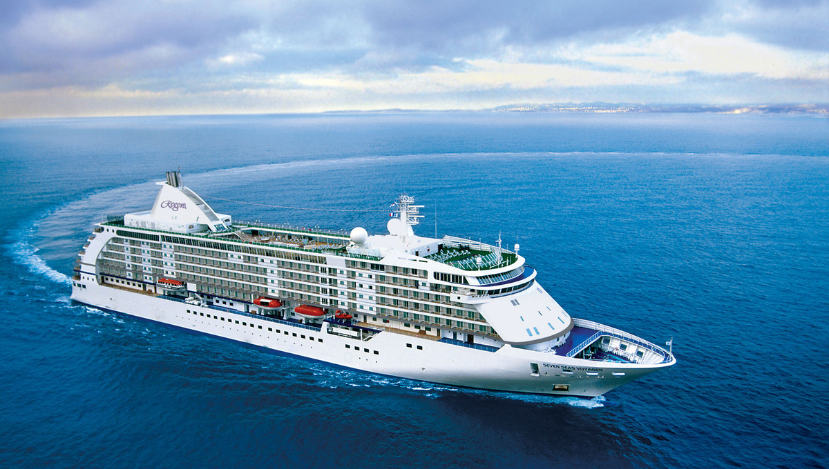 Now, Voyager, Sail Thou Forth - Regent Seven Seas Voyager