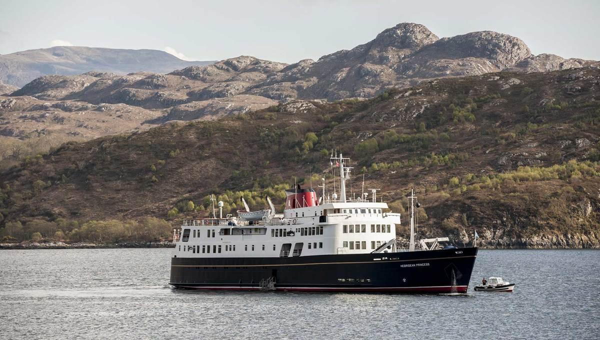 Hebridean Princess, Scotland