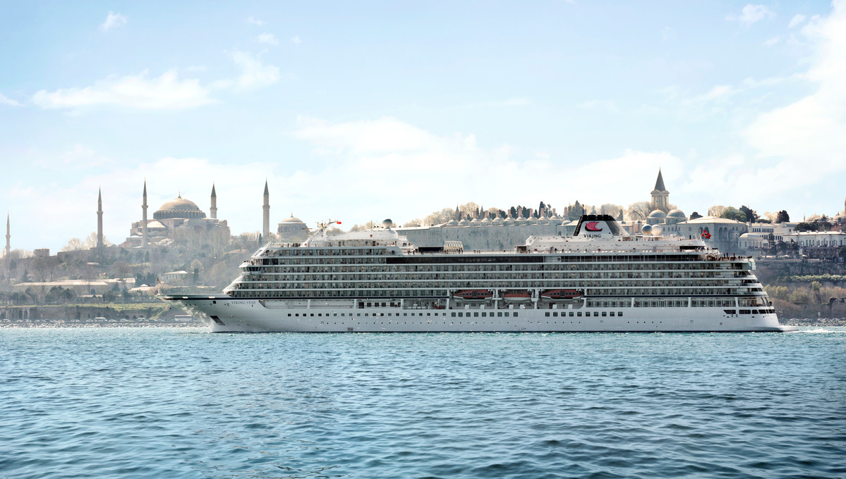 The best Eastern Mediterranean cruises - Viking Star in Istanbul
