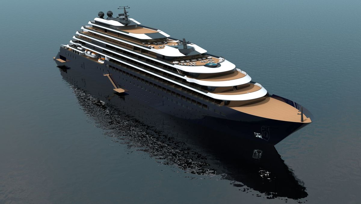 The Ritz-Carlton Yacht Collection - Yacht rendering