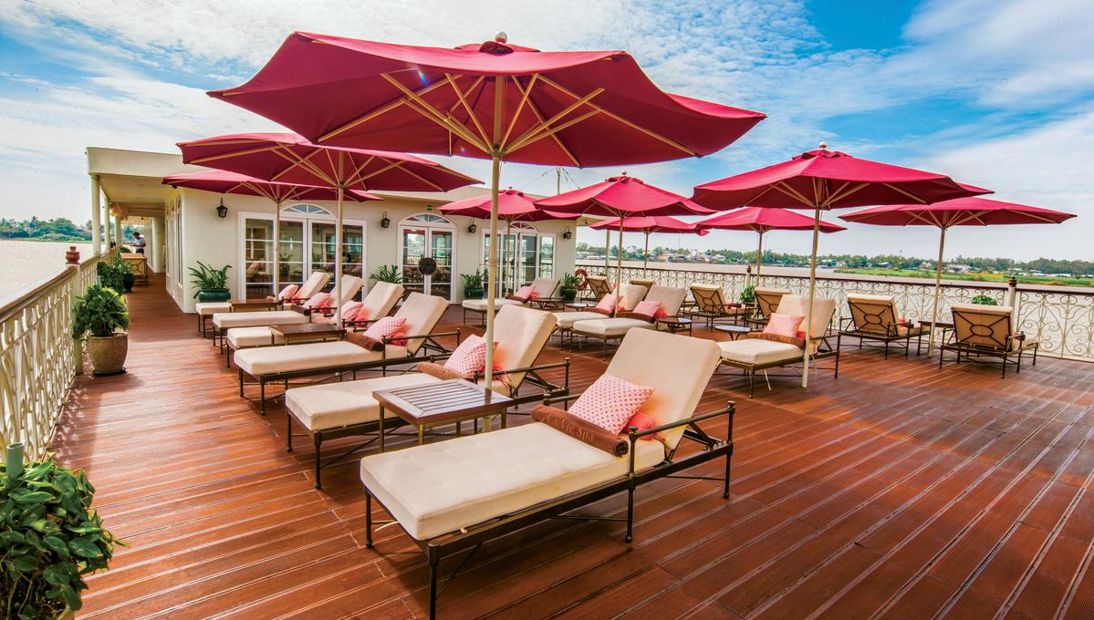 Uniworld River Cruises - Mekong Navigator - Sun deck
