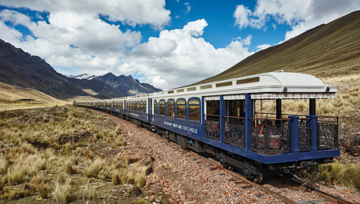 Belmond Andean Explorer, one of the best choices for a rail and cruise combination