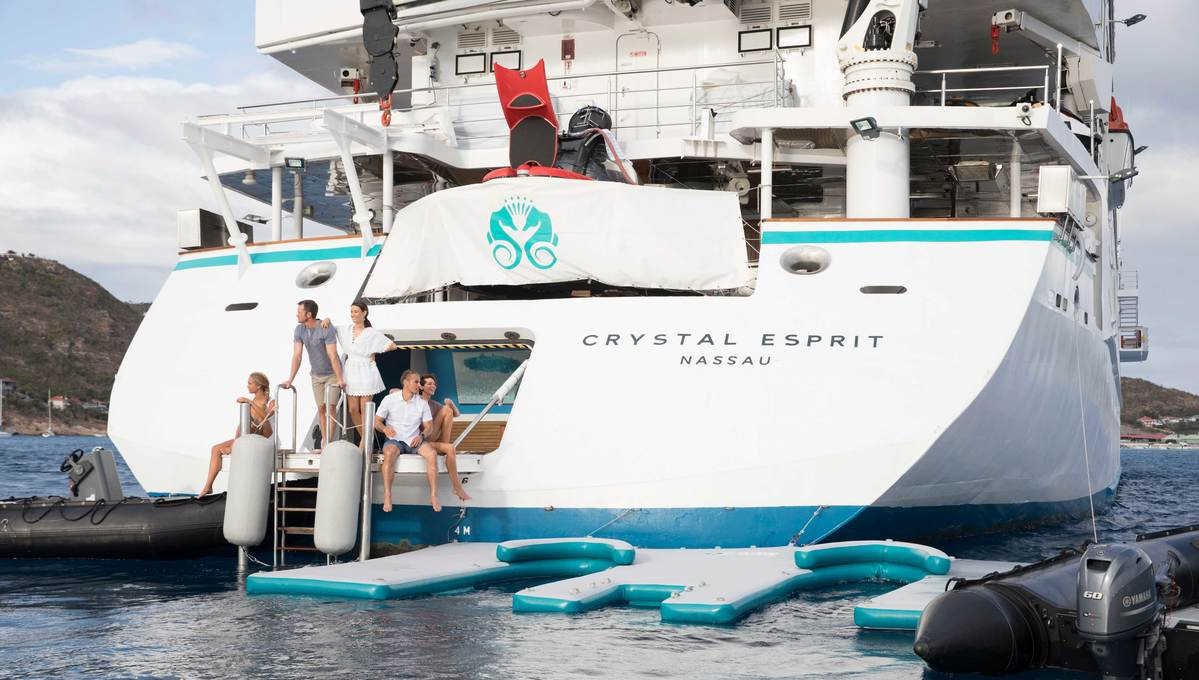 Million pound cruise holiday on Crystal Esprit