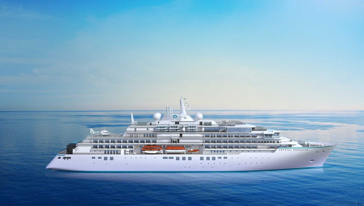 Crystal Expedition Cruises - Crystal Endeavor